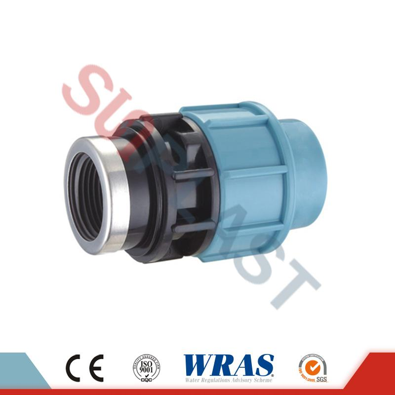 PP Compression Female Coupling