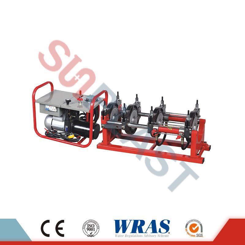 90-250мм хидравлични заваръчни апарати за заваряване за HDPE тръби